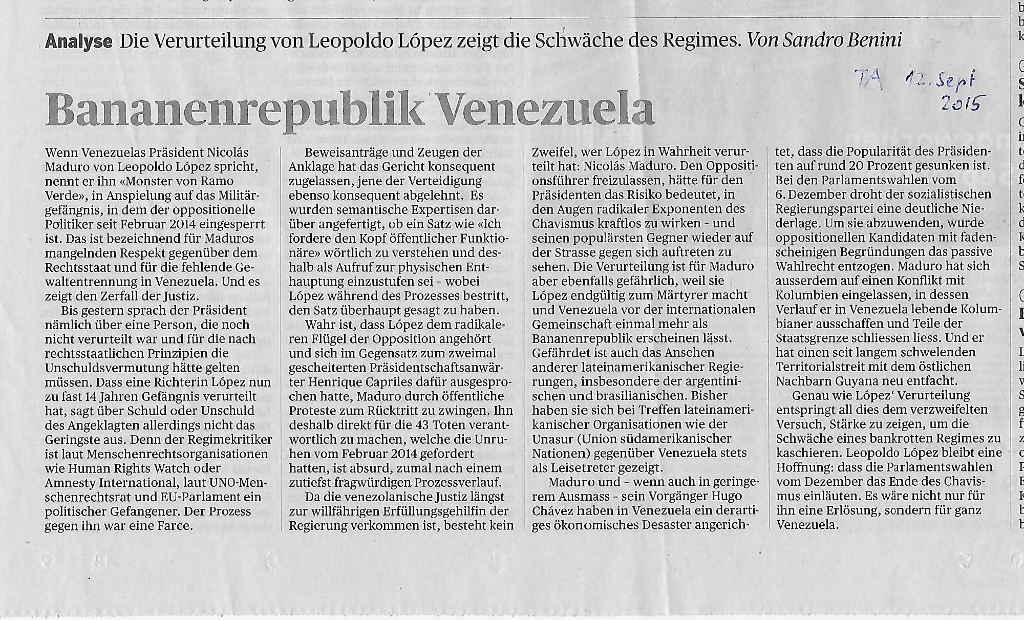 Medien und Demokratie - Vereinigung Schweiz-Cuba