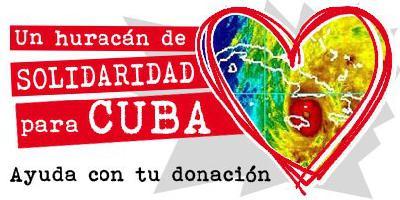 Un huracan de solidaridad para Cuba