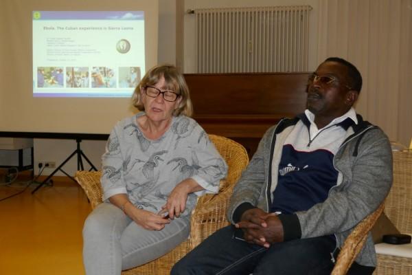 Der kubanische Arzt – am Mittwoch noch in Konstanz – jetzt in Haiti