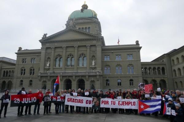 Gedenkstunde für Fidel in der Schweizer Hauptstadt