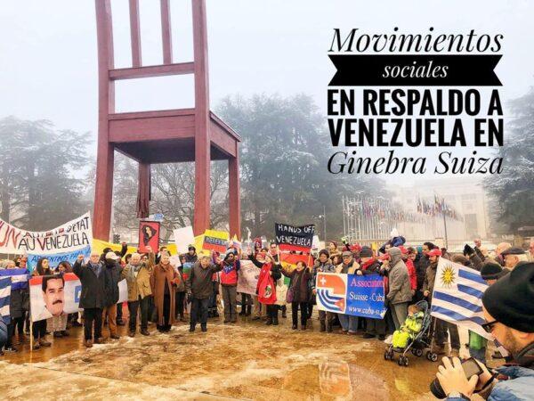 Solidarisch mit Venezuela und der Bolivarischen Revolution