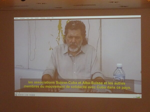 Videobotschaft von Abel Prieto